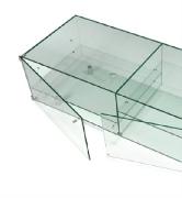 Üveg szekrény